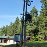 Rekonstrukce VN 22kV,  trafostanice 100kVA Povodí Moravy, s.p., VD Hubenov, Jihlava