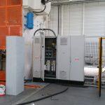 Připojení strojů v nové hale v areálu výrobního závodu S.N.O.P Pohořelice
